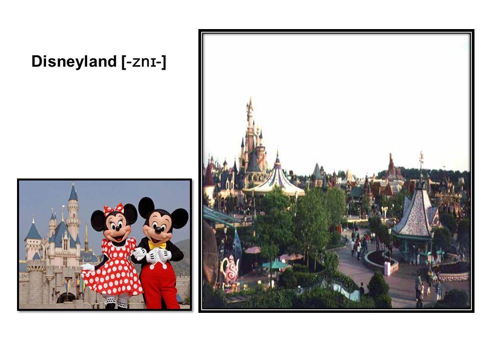 Disneyland [-znɪ-]